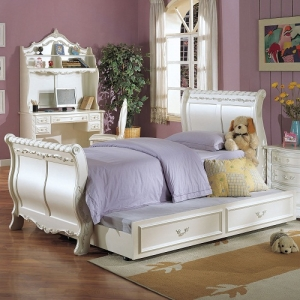 0909T Twin Sleigh Bed