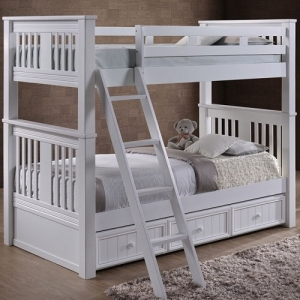 A0001TT Carter twin over twin bunk bed - 83