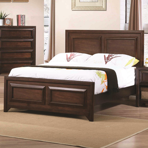 063FB Full Panel Bed - Finish: Maple Oak<br><br>Available in Twin Size<br><br>Box Spring Required<br><br>Dimensions: 57.25W  x  79.5D  x  48H
