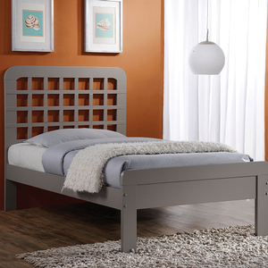 066FB Full Bed in Gray - Finish: Gray<br><br>Dimensions: 78