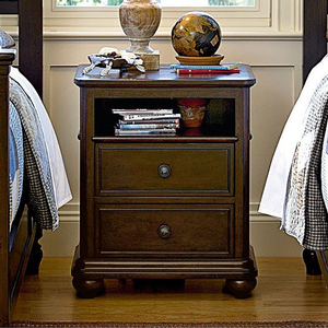 084NS Nightstand - Finish: Molasses<br><br>DImensions: 22W x 18D x 27H