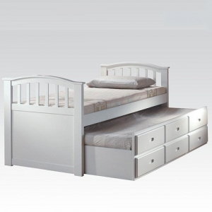 032CB Full Bed & Twin Trundle w/ Drawers