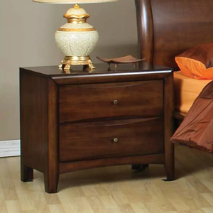 121NS 2 Drawer Nightstand  - Finish: Maple Oak<br><br>Dimensions: 28W  x  17.5D  x   25H