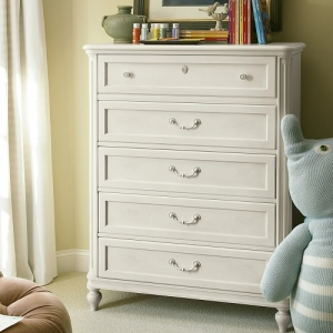 131CH Drawer Chest - Right end opens to reveal accessory hooks<Br><br>End panels open for storage and mirror<br><Br>Self-closing drawers<br><Br>