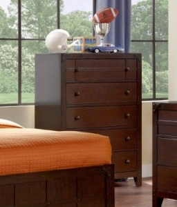 112- 215-009 Summerfield Collection 5-Drawer Chest - Dimensions: 35 1/2