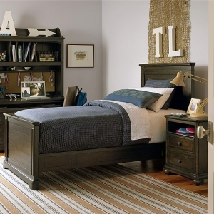 0014TB Dalary Twin Panel Bed - Headboard can be used separately<br><br>