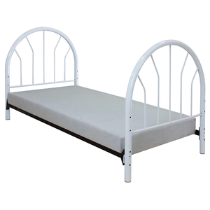 267HB White Headboard & Footboard - Finish: White<br><br>Available in Red, Black & Blue<br><br>Dimensions: 49