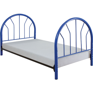 269HB Headboard & Footboard - Finish: Blue<br><br>Available in Red, White & Black Finish<br><br>Dimensions: 42
