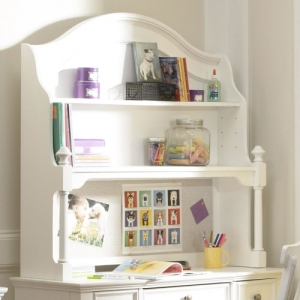 005HC Desk Hutch - Two shelves<br><br>Corkboard<br><BR>Cord Access<br><Br>