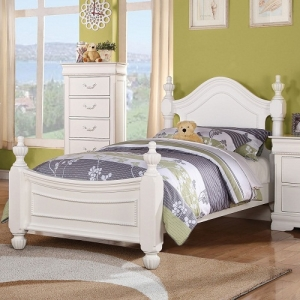 0021TB Emmaline Twin Poster Bed