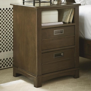080NS Nightstand - Two drawers<br><Br>Open storage area<BR><bR>Built-in night light<BR><bR>Lift lid with power outlet<BR><bR>Self-closing drawers<BR><bR>Touch lighting<BR><bR>