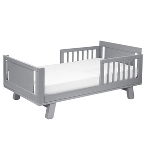CB005 Junior Bed Conversion Kit in Grey - Finish: Grey<br><br>Available in White, Washed Natural, Espresso & White/Washed Natural<br><br>Made in Taiwan<br><br>Assembly Weight: 70.4 lbs<br><br>Dimensions: 53.5