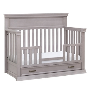 CF003 Toddler Conversion in Grey - Finish: Windsor Grey<br><br>Weight: 15.4 lbs<br><br>Dimensions: 62.72