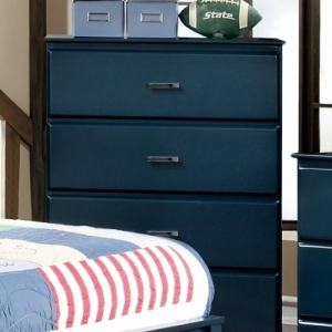 117CH Blue 4 Drawer Chest