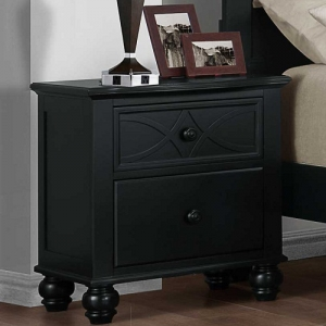 008NS Cottage Style Nightstand  - Dovetailed Drawers<br><br>Ball Bearing Side Glides<br><Br>