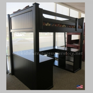 LB012 Mason Loft Bed - Made in USA