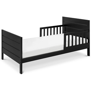 005TRB Modern Toddler Bed in Black - Finish: Black<br><br>Available in Grey, Espresso & White<br><br>Assembly Required<br><br>Made in China<br><br>Assembly Weight: 25 lbs<br><br>Dimensions: 53.75 x 29.5 x 23.125