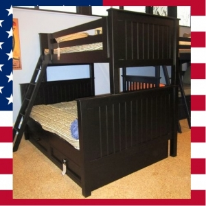 US0008 Twin over full bunk bed