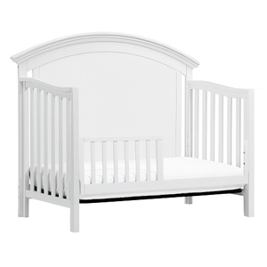 C011 Toddler Conversion Kit in White - Finished in non-toxic multi-step painting process, lead and phthalate safe<br><br>Meets ASTM international and U.S. CPSC safety standards<br><br>
