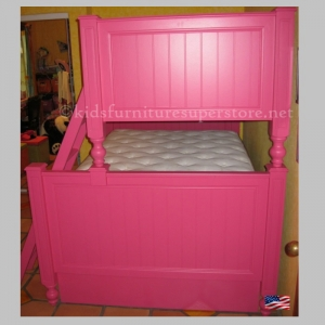 Twin over full Harper bunk bed - 32 Colors Available